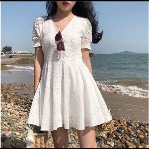 Dresses & Skirts - White Mini Dress